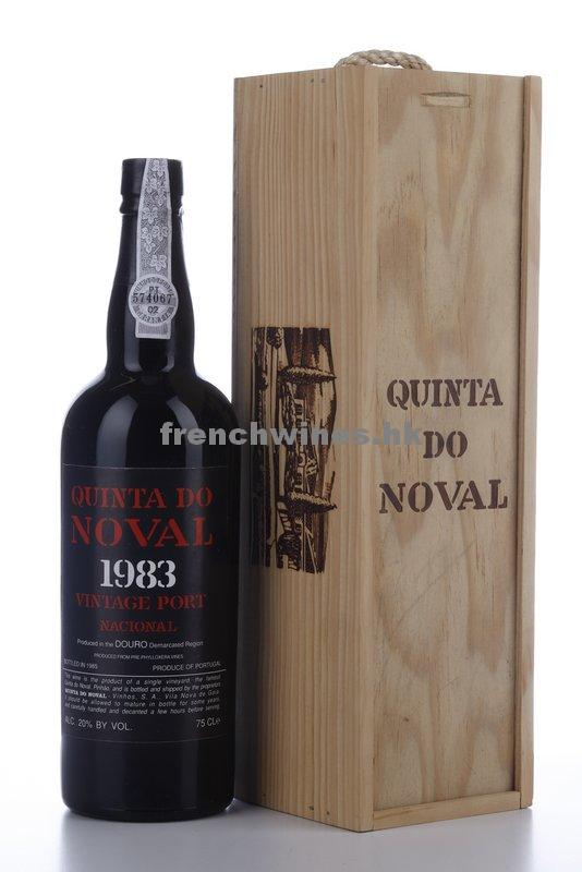 QUINTA DO NOVAL NACIONAL VINTAGE PORT 1983