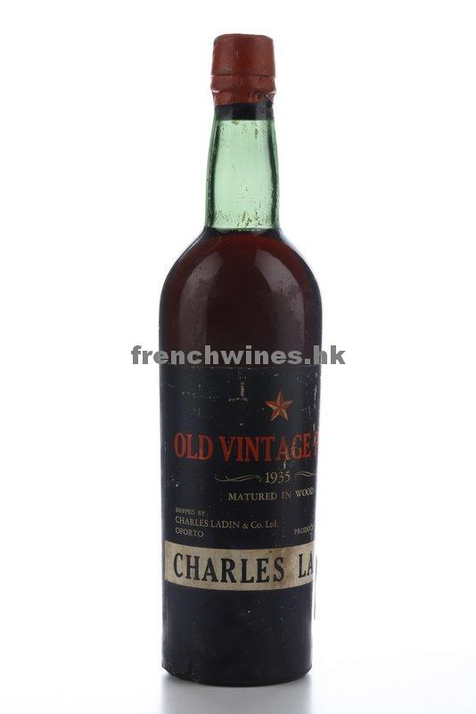 CHARLES LADIN OLD VINTAGE PORT 1935