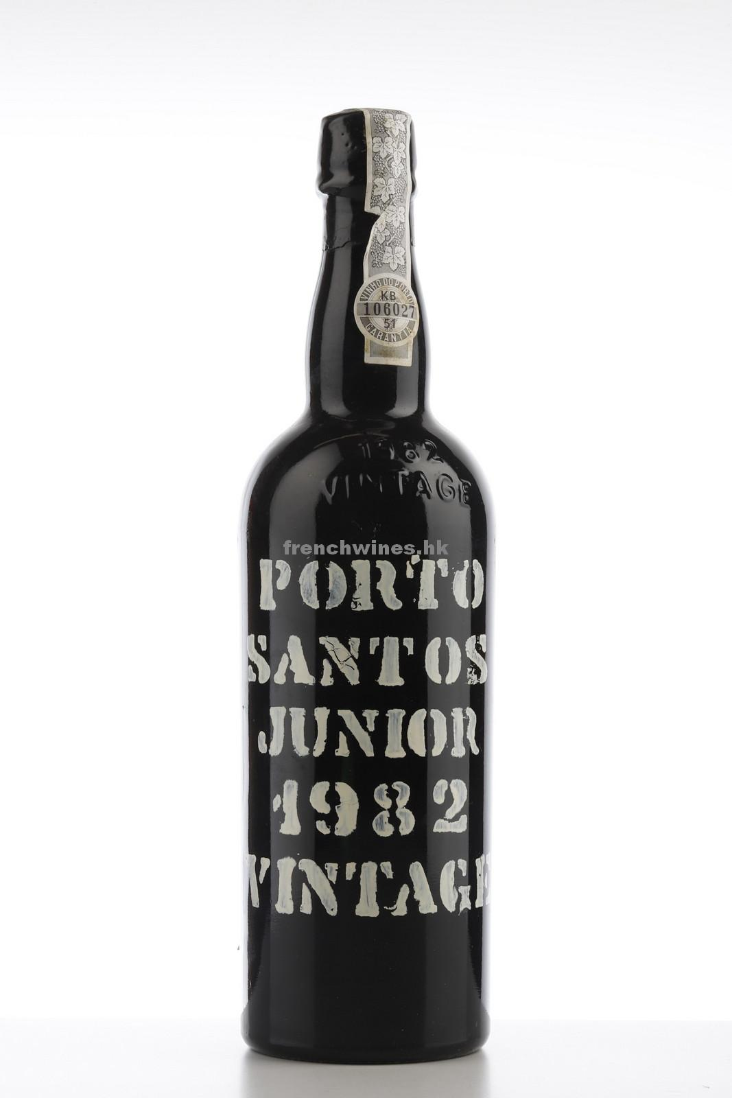VINTAGE PORT SANTOS JUNIOR 1982
