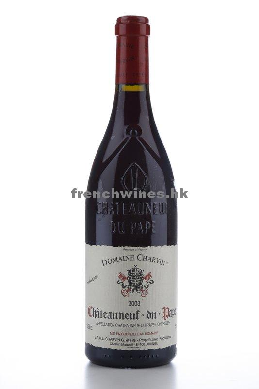 CHATEAUNEUF DU PAPE CHARVIN 2003
