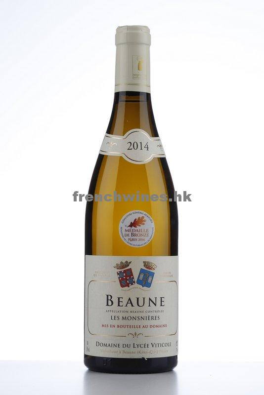 BEAUNE BLANC LES MONSNIERES 2014