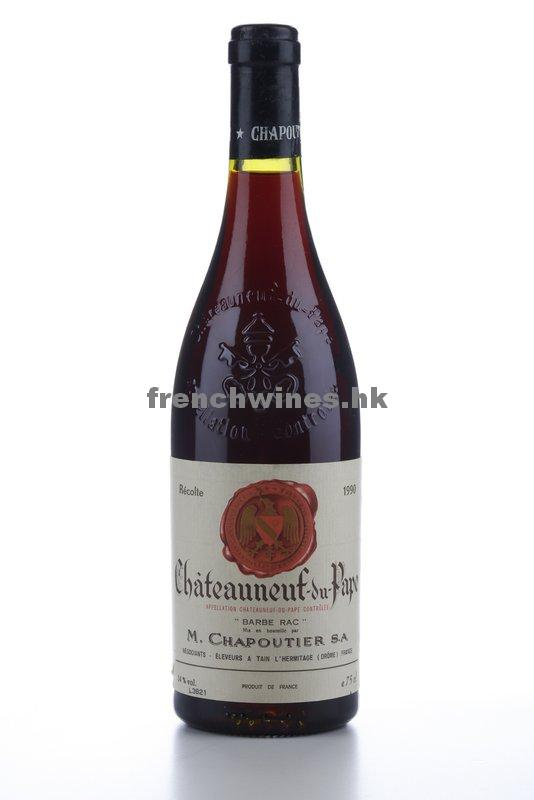 CHATEAUNEUF DU PAPE BARBE RAC 1990