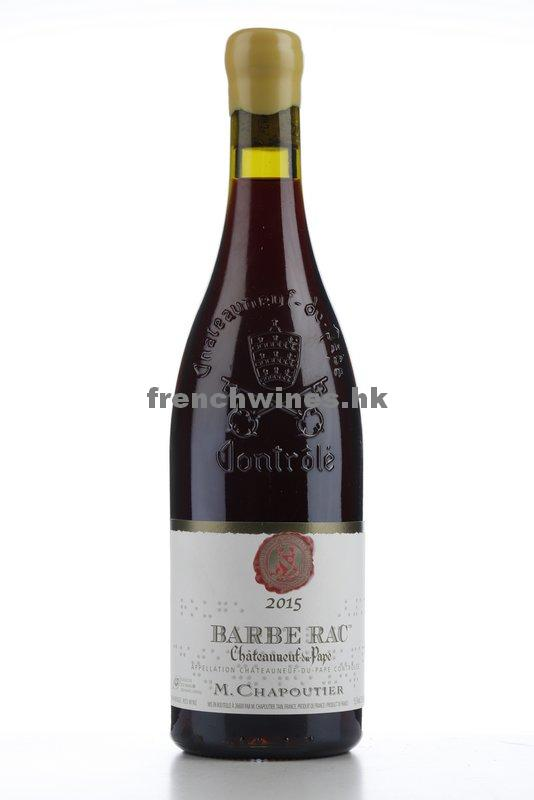 CHATEAUNEUF DU PAPE BARBE RAC 2015