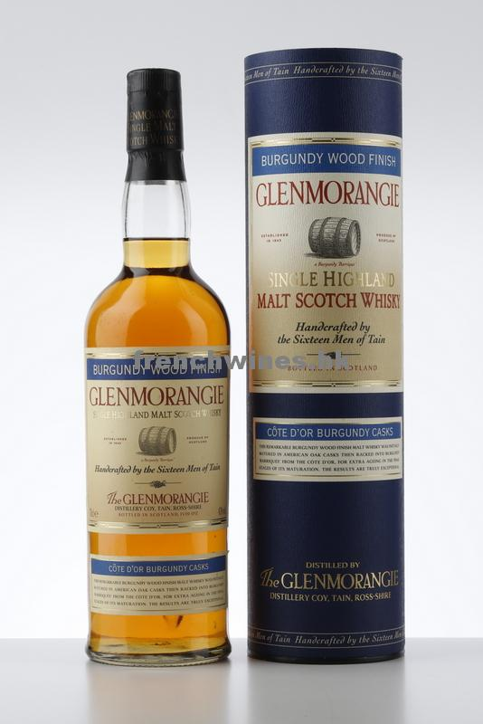 GLENMORANGIE BURGUNDY WOOD FINISH NV