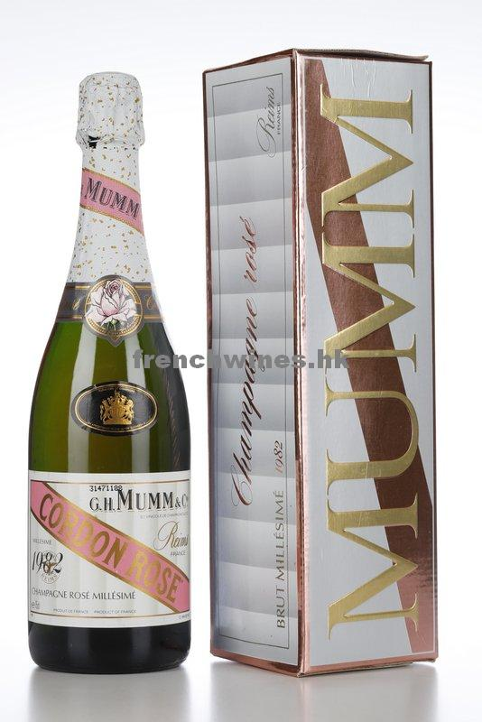 MUMM CORDON ROSE 1982