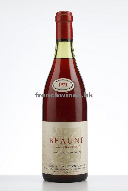 BEAUNE LES THEURONS 1971