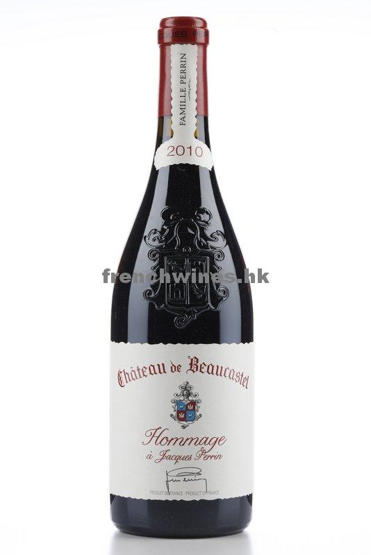 CHATEAUNEUF DU PAPE BEAUCASTEL HOMMAGE A JACQUES PERRIN 2010
