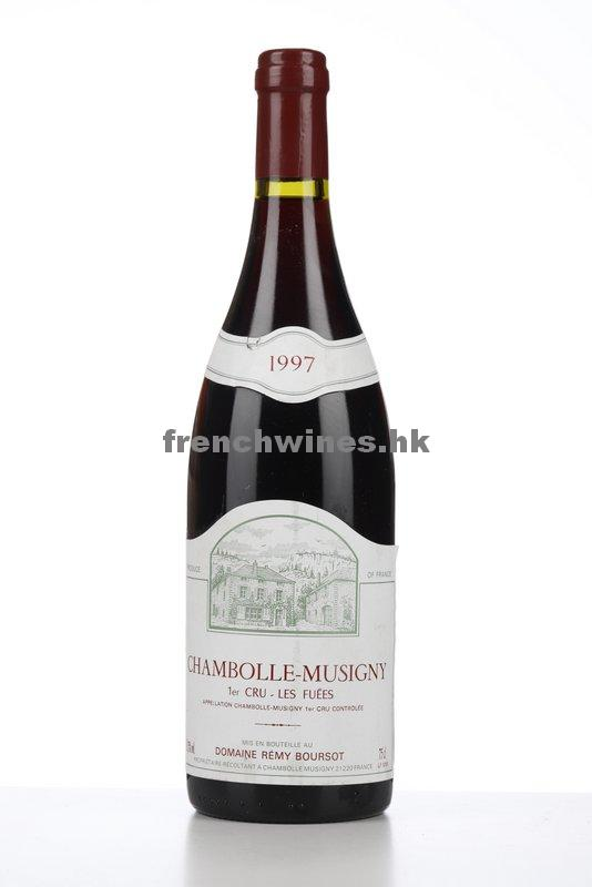 CHAMBOLLE MUSIGNY LES FUEES 1997