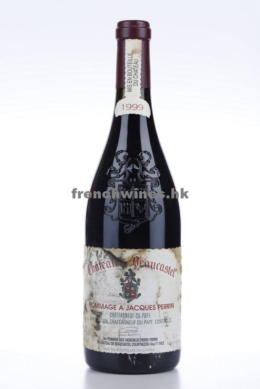 CHATEAUNEUF DU PAPE BEAUCASTEL HOMMAGE A JACQUES PERRIN 1999
