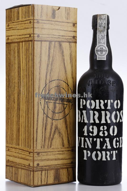 BARROS VINTAGE PORT 1980