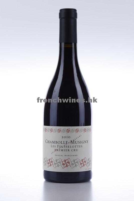 CHAMBOLLE MUSIGNY LES FEUSSELOTTES 2010