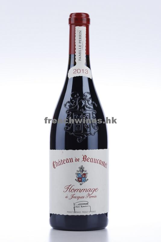 CHATEAUNEUF DU PAPE BEAUCASTEL HOMMAGE A JACQUES PERRIN 2013