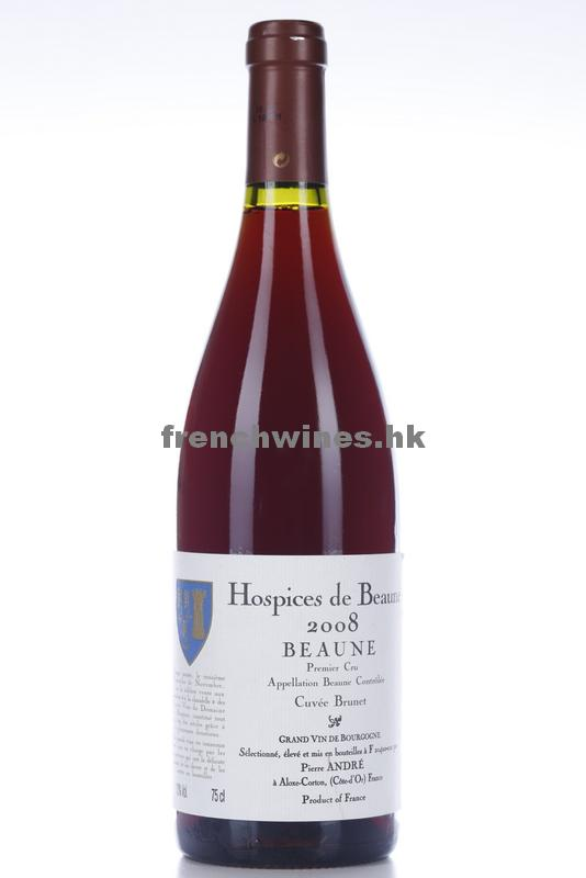 BEAUNE HOSPICES DE BEAUNE CUVEE BRUNET 2008